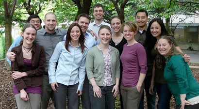 Group photo of the Prosthetics and Orthotics class of 2010