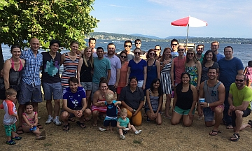 Resident Welcome BBQ 2015 at Magnuson Beach